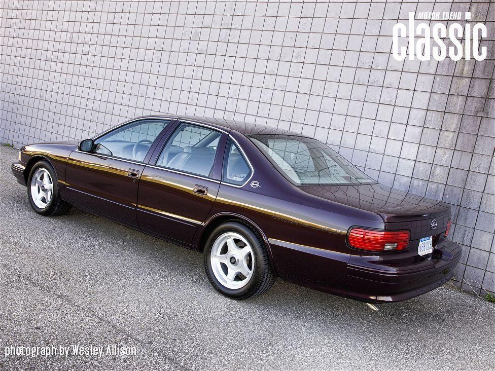 Nice 1996 Chevrolet Impala SS