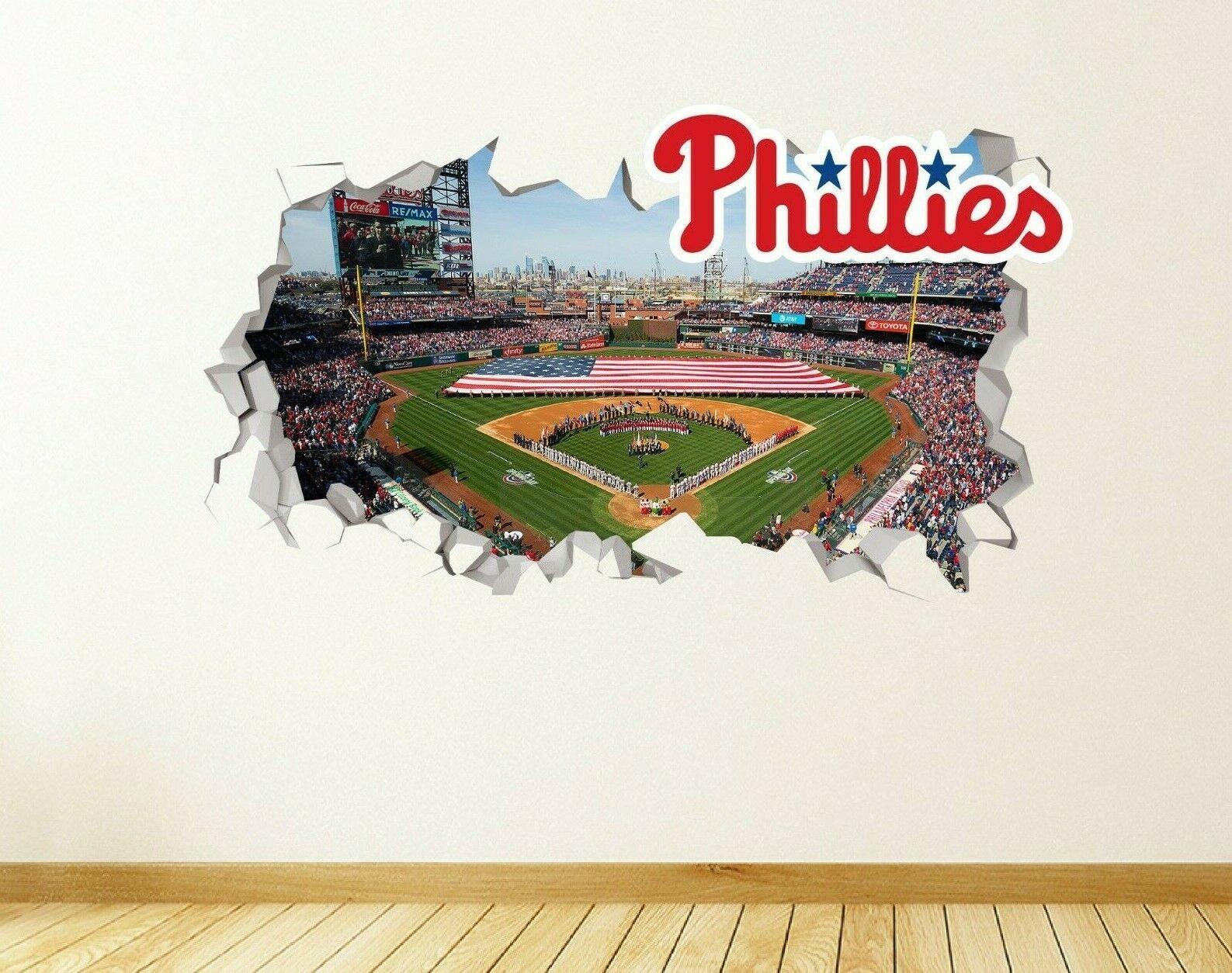 Philadelphia Phillies Baseball Vinyl Wall Sticker
