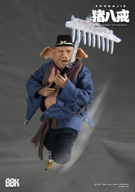 toyhaven: Incoming: BBK Journey To The West 1/6th scale Zhu Bajie / 西遊記-豬八戒 or Pigsy 12-inch Figure