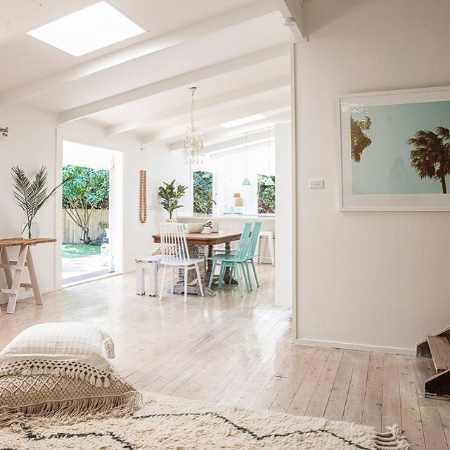 Image Result For White Washed Stained Floors