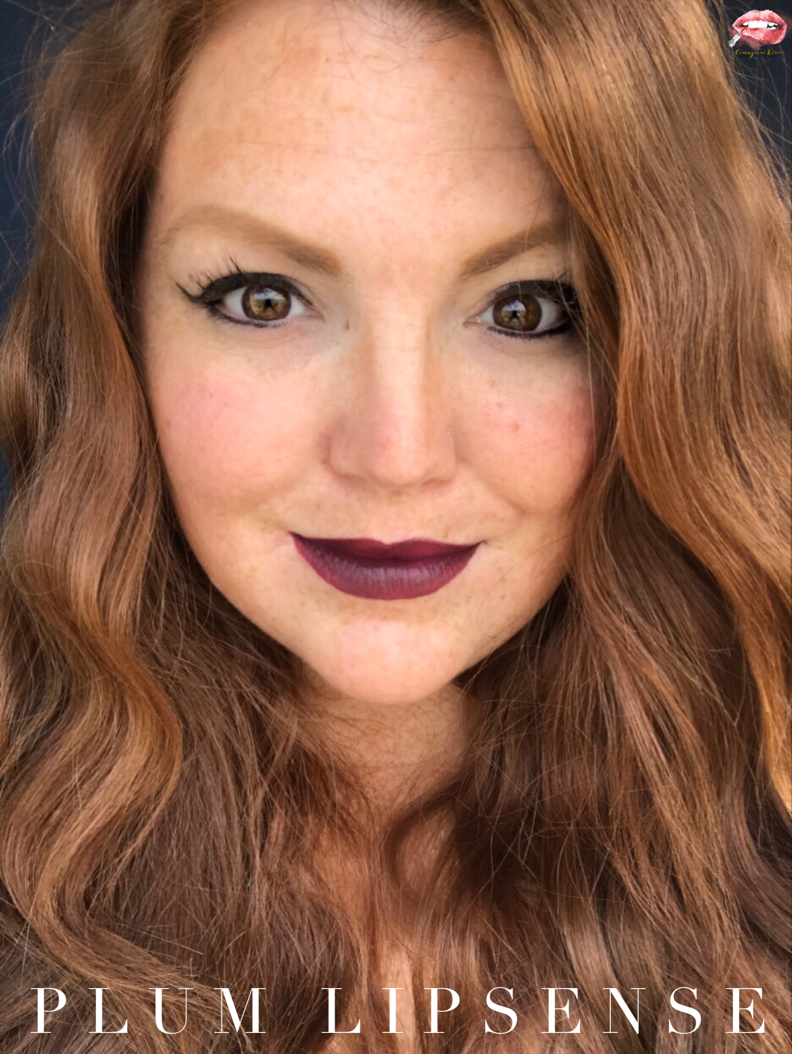 Plum LipSense is finally back in stock! I love this Berry