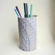 white pen holders ceramic s - Google Search