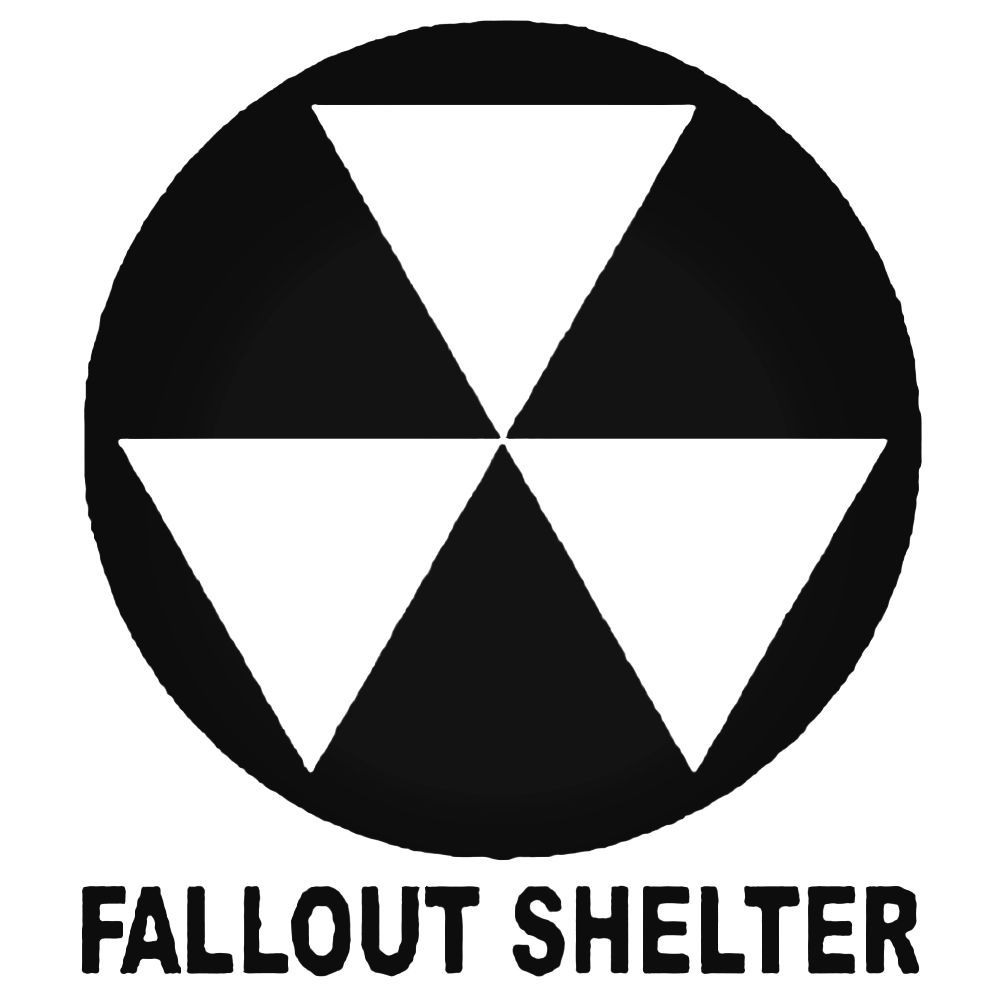 Fallout Shelter Decal Sticker Fallout And Shelter