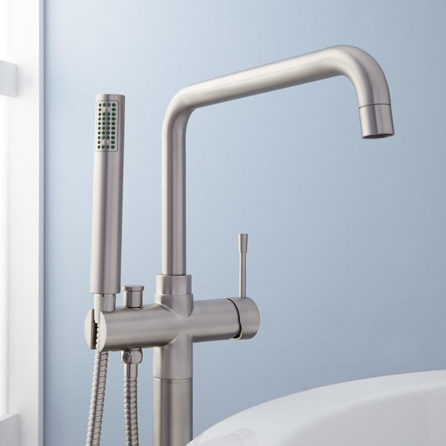Humboldt Thermostatic Freestanding Tub Faucet | bathroom faucets ...