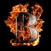 Burning B Alphabet Images Lettering Alphabet Fonts Letter B