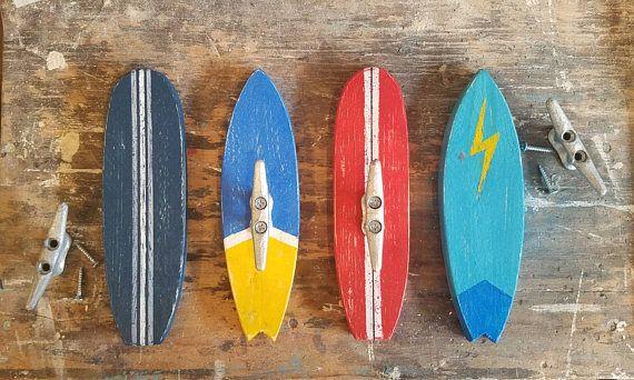 Surfboard Coat Hooks Surf Hooks Coat Hook Rustic Surfboard Surfboard Paint Matching Outdoor Shower