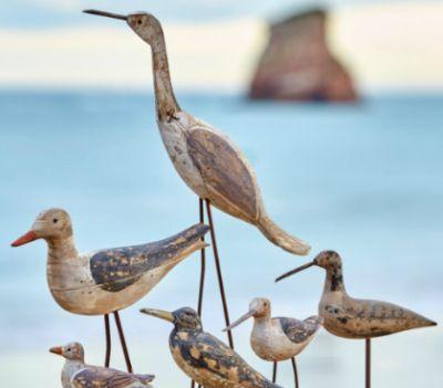 Rustic Wooden SeagullCoastal Style by Batela