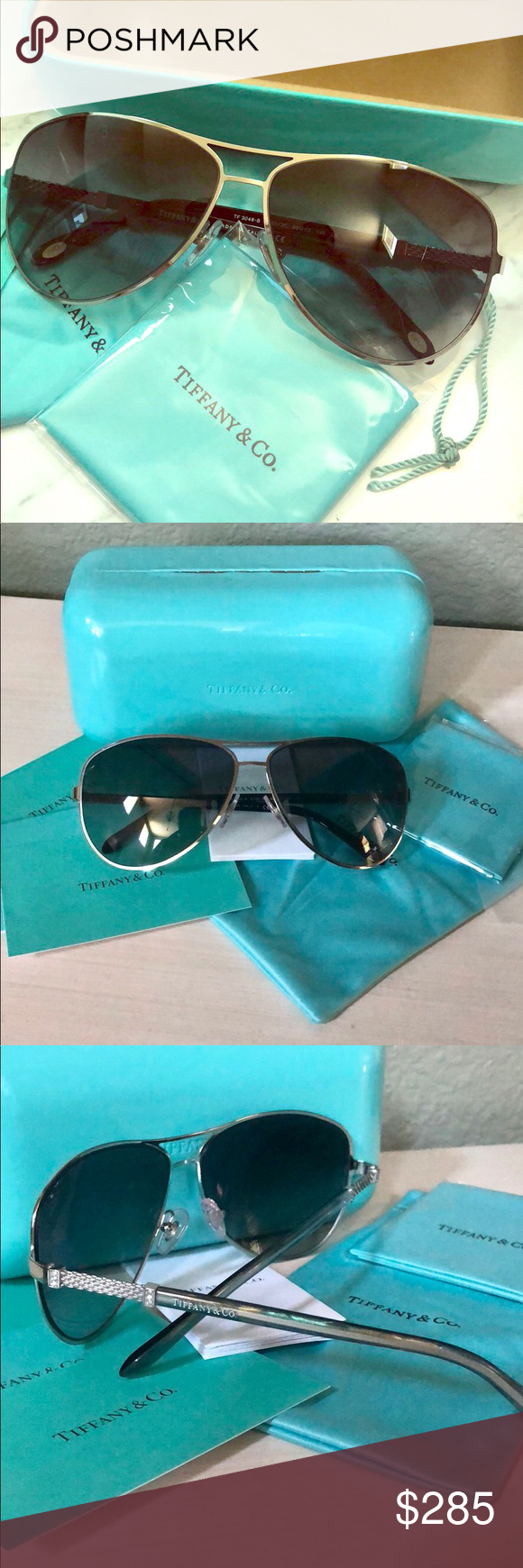 de7b7906ea79 Spotted while shopping on Poshmark  Tiffany   Co. aviator sunglasses!   poshmark  fashion  shopping  style  Tiffany   Co.  Accessories