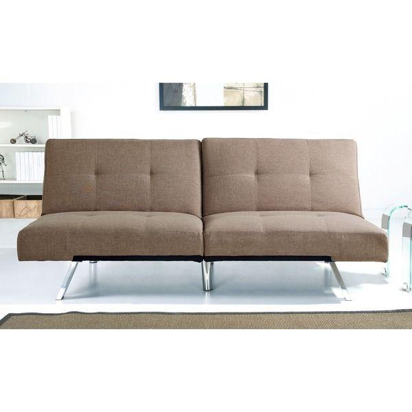 abbyson living aspen coffee fabric foldable futon sleeper sofa bed rh pinterest com