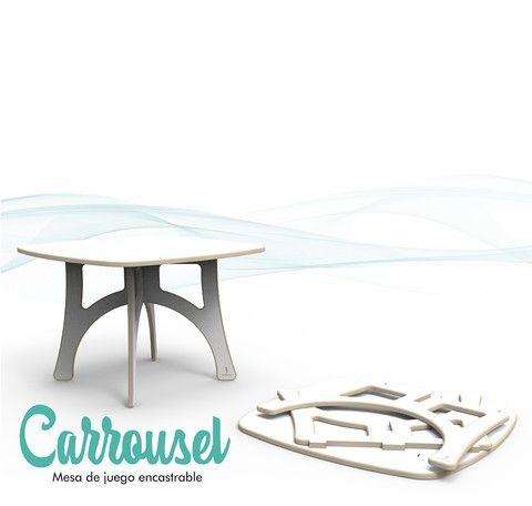Mesa Carrousel | мебель | Pinterest | Ideas para