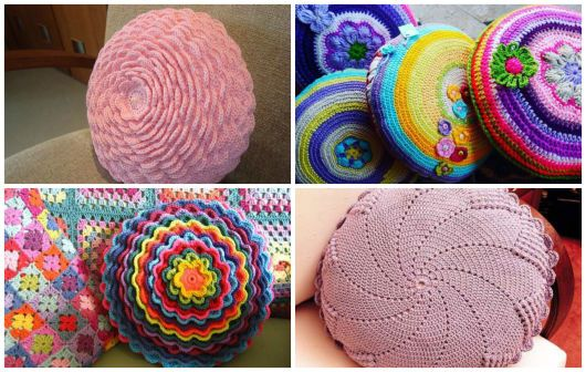 coloridas e redondas