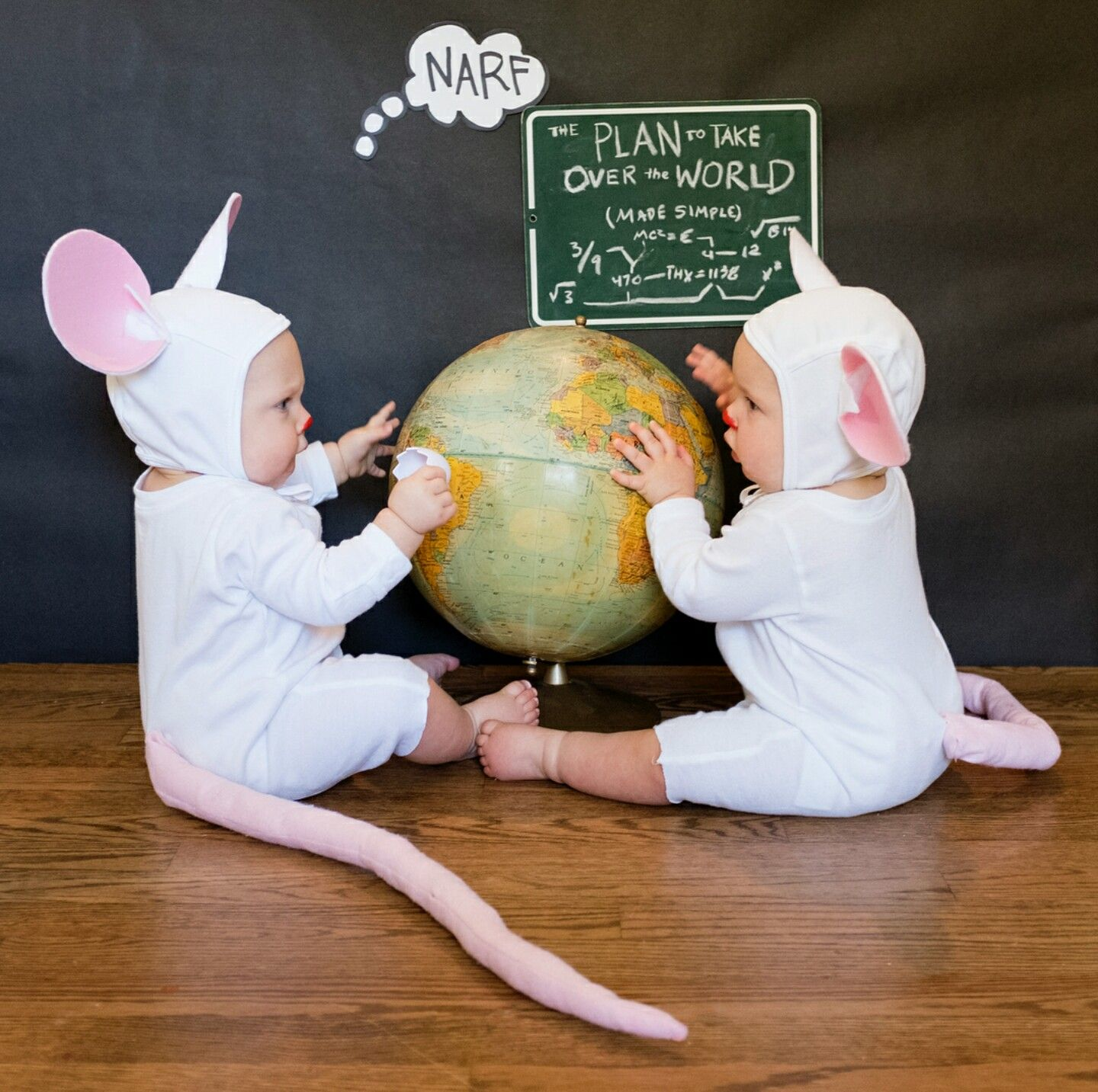 Cute Kid Costumes Ideas Pinky And The Brain Source Instagram