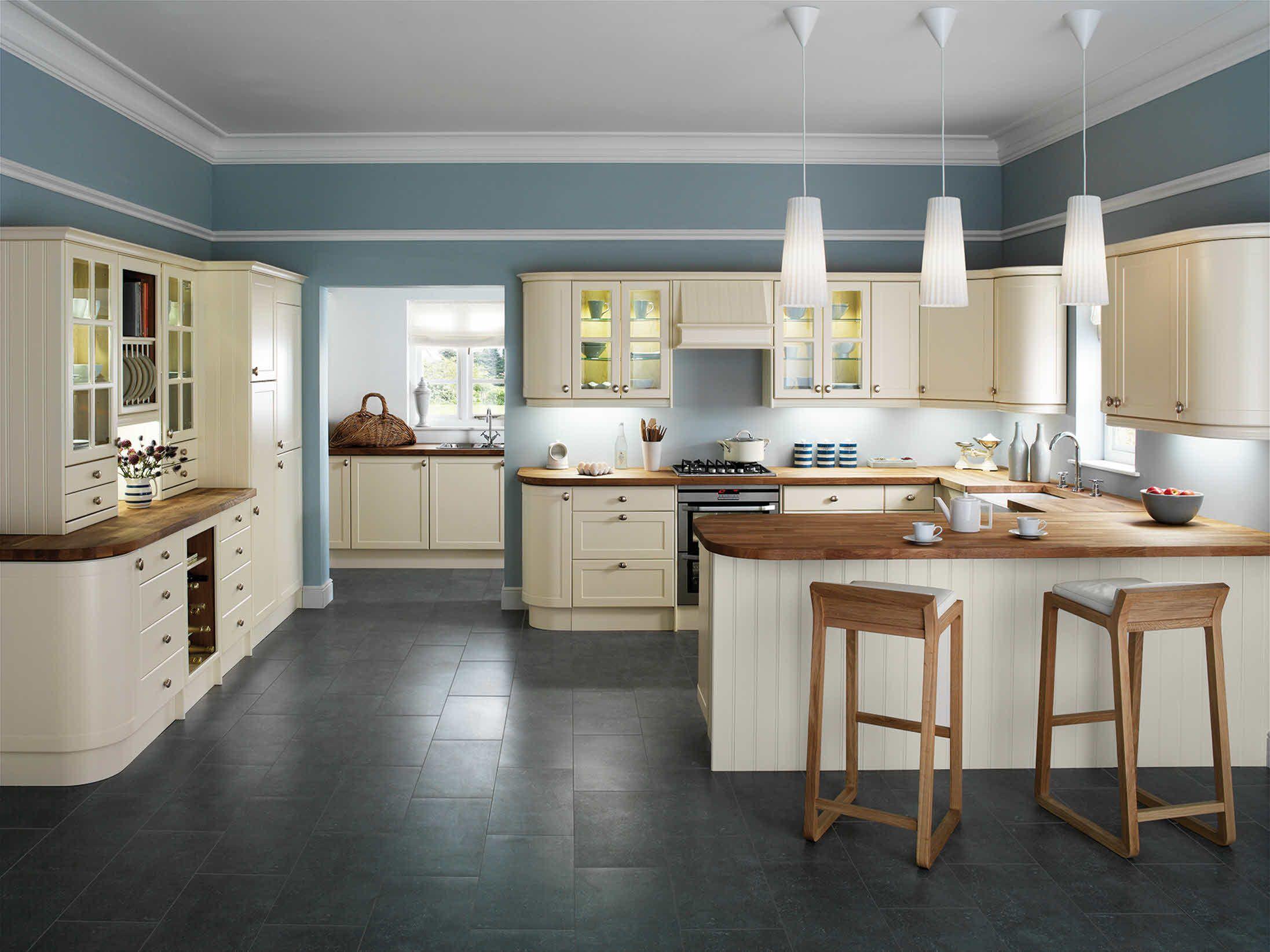 Shaker Cream | Mummy\'s Kitchen | Pinterest | Kitchen color schemes ...