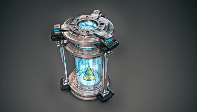 Free C4D 3D Model: Sci-Fi Biohazard Container | Cinema 4D