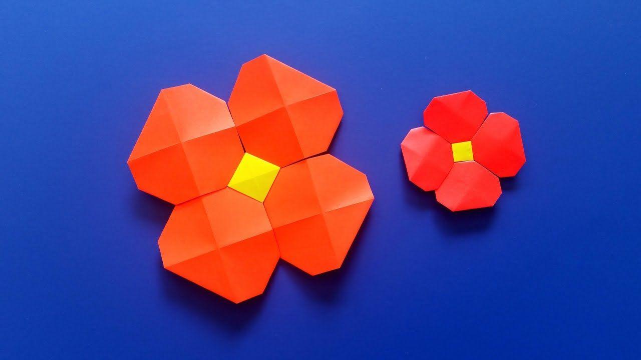Very easy origami flower video tutorial origami videos pinterest very easy origami flower video tutorial mightylinksfo