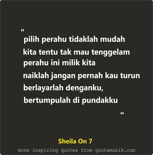Dp Bbm Lagu Sheila On 7 Berlayar Denganku Lirik Lagu Kutipan Lirik Berlayar