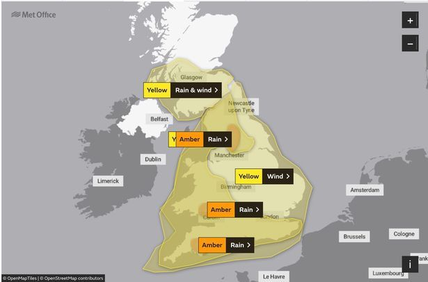 Four separate amber warnings a re in place on Sunday – two which cover the south of England, one for The post Met Office StormDennis Warnings upgraded include England appeared first on Watford London Hertfordshire UK News.