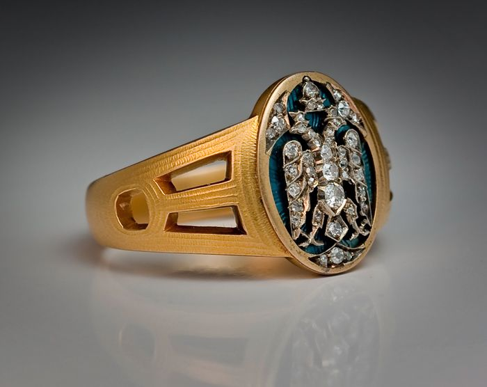 Faberge Imperial Presentation Men s Ring