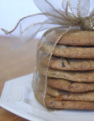 Triple Chocolate Toffee Caramel Cookies - 365 Days of Baking