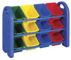 Toy Storage Idea Amazon.com ECR4Kids 3-Tier Toy Storage Organizer with 12  sc 1 st  Pinterest & Toy Storage Idea Amazon.com: ECR4Kids 3-Tier Toy Storage Organizer ...