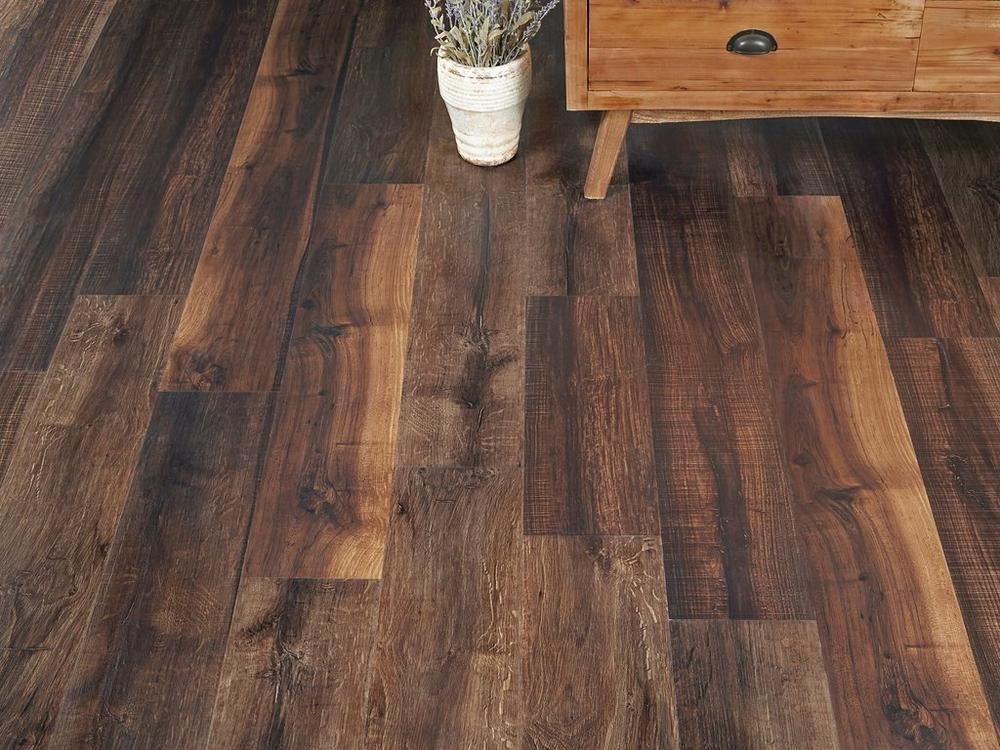 Mixed Mocha Rigid Core Luxury Vinyl Plank Cork Back Vinyl Plank Luxury Vinyl Plank Vinyl Plank Flooring