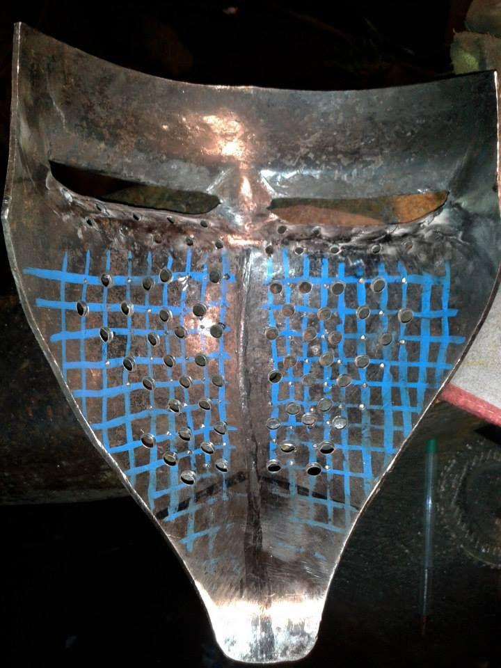 Máscara de clap visor en proceso - Valherjes