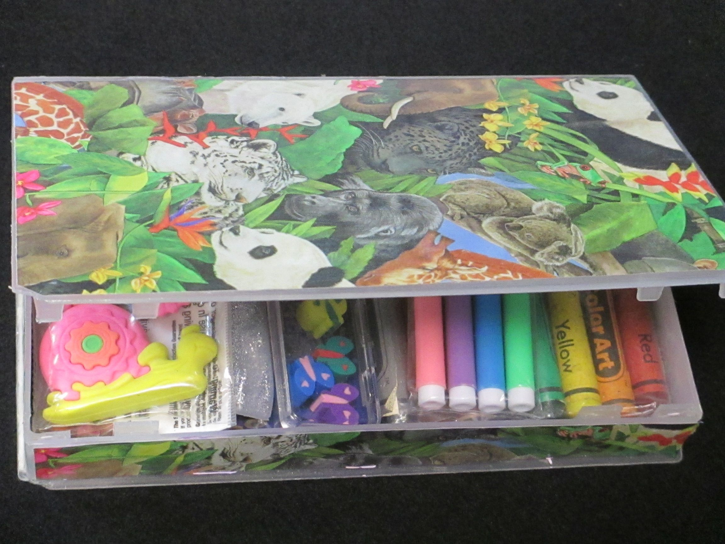 Turn A Vhs Tape Case Into A Kids Or Adults Travel Craft