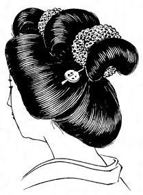 Yahoo!検索(画像)で「日本髪   イラスト」を検索すれば、欲しい答えがきっと見つかります。