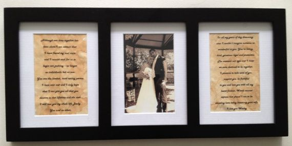 Create a unique personalised anniversary gift for your first wedding ...