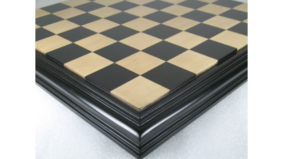 Luxury Chess Board Ebony Box Wood 21