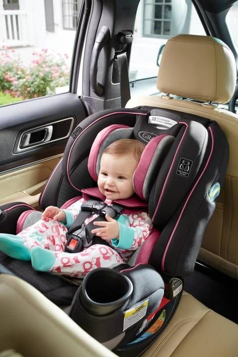 The Graco® 4Ever™ Extend2Fit™ 4-in-1 Convertible Car Seat gives