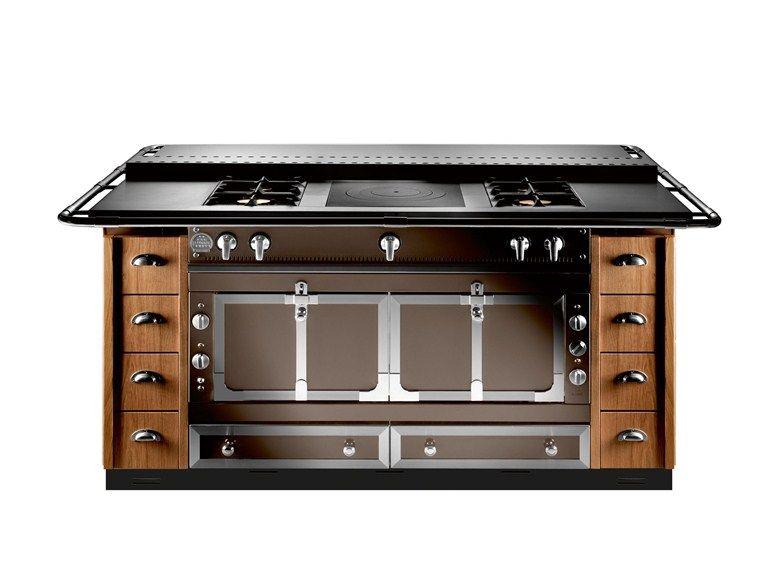 Cucina a libera installazione professionale in acciaio inox ISLANDS ...