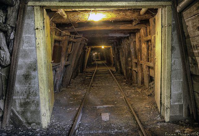 Pioneer Tunnel Coal Mine Tour Train Rides Scenic Travel Coal Mining