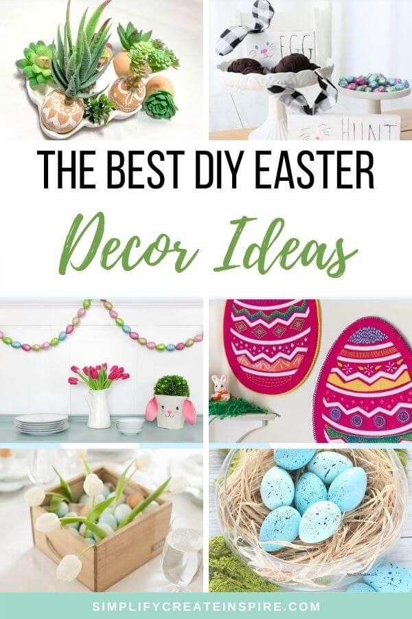 55 Elegant Easter Decorating Ideas For Your Home In 2021 Diy Easter Decorations Easy Easter Decorations Easter Centerpieces Diy