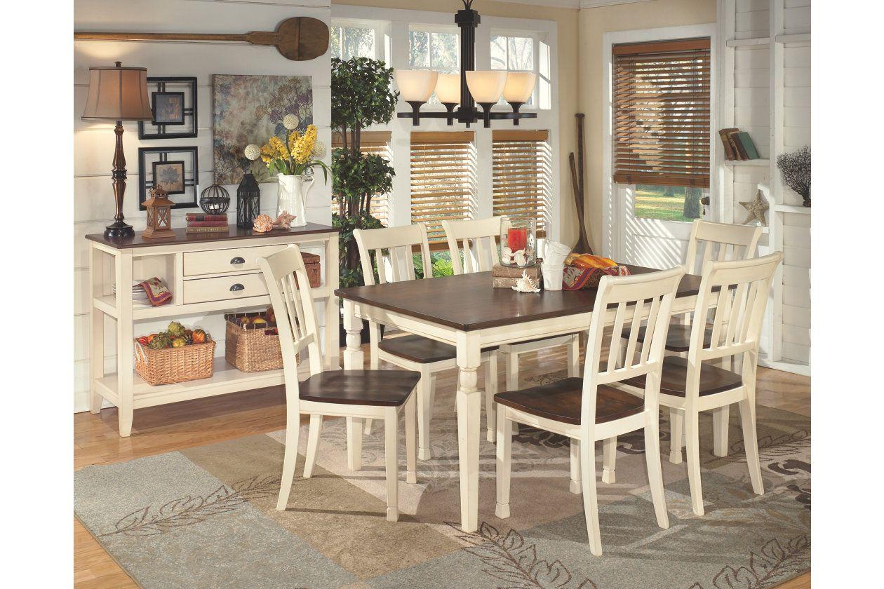 Whitesburg Dining Room Chair Ashley Homestore Rectangular