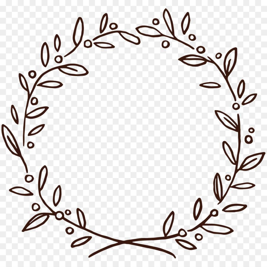 Photo of Get Free Wreath Drawing Flower Doodle Floral Find More