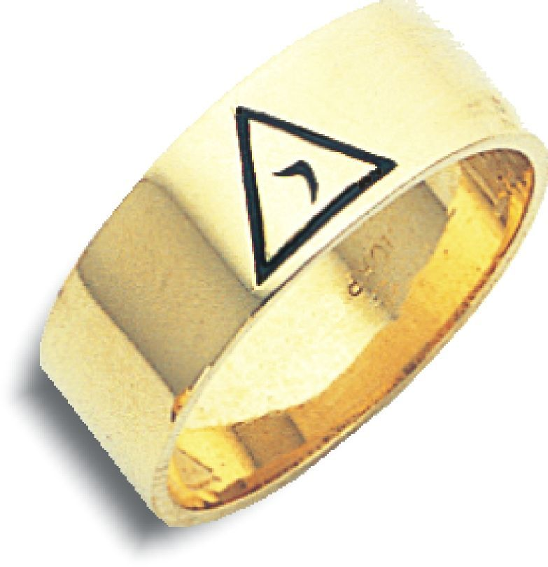 10k Gold 3rd Degree Blue Lodge Masonic Ring Blue Lodge Masonic Rings Masonic Ring Rings