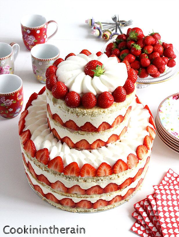 recette gateau anniversaire facon wedding cake