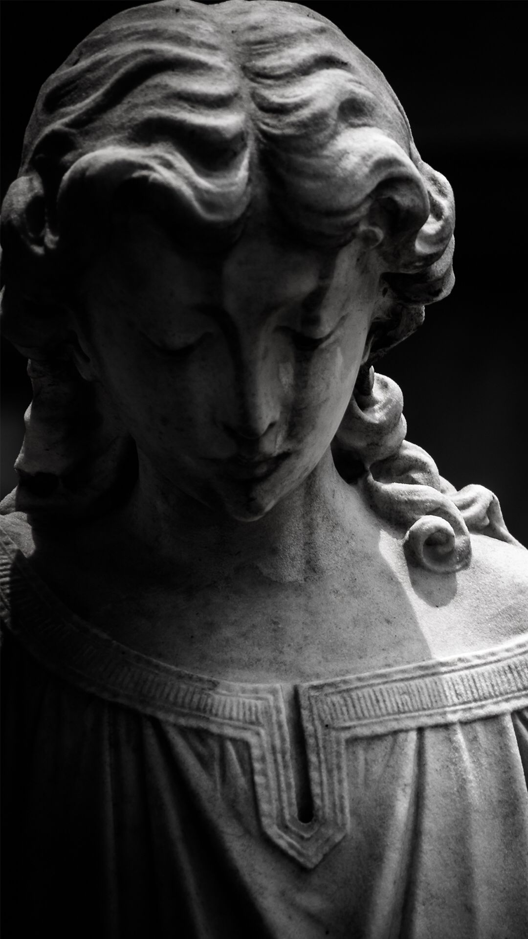 Pin By Agnes On Sculpture Black White Wallpaper Iphone