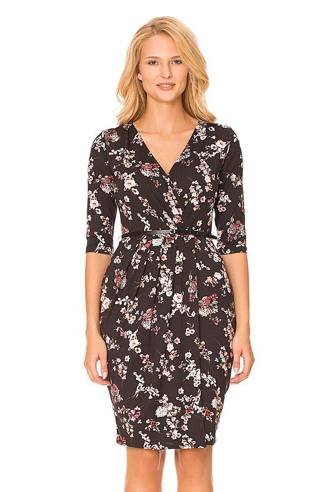 a845c9d58022ad ORSAY ✽ SUKIENKI ☼ Sukienka kopertowa w kwiaty | Dress | Sukienki ...