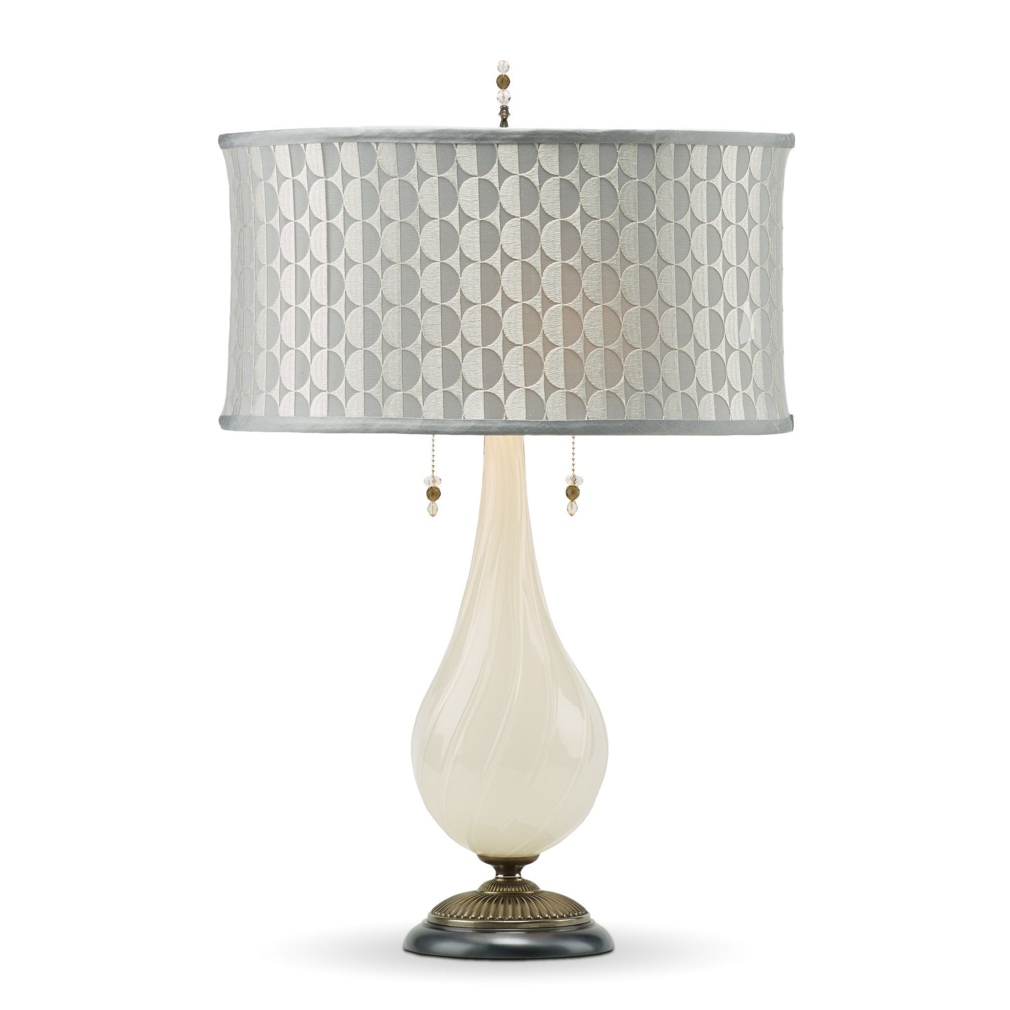 Gray Table Lamps Entrancing Jules Table Lamp 135Af121Kinzig Design Colors White Silver And Design Decoration