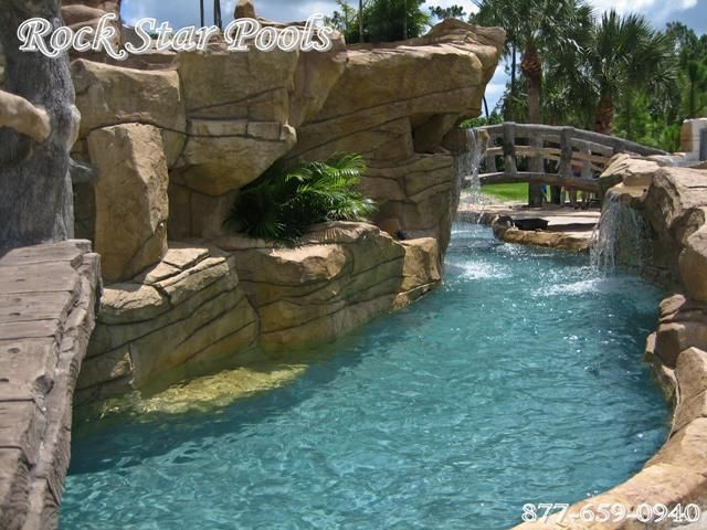 Pool Designs · I Want A Lazy River In My Backyard! :)
