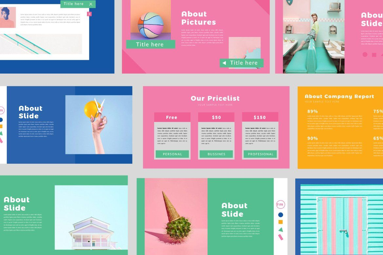 Color Fun Keynote Keynote Design Powerpoint Design Templates Presentation Design Layout