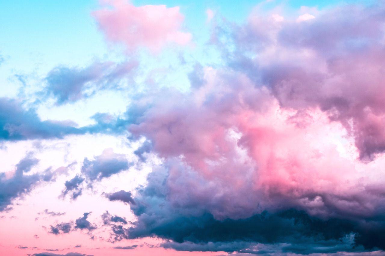 Pink Clouds Iphone Wallpaper Astheticwallpaperiphone Pink Clouds Wallpaper Clouds Wallpaper Cloud Wallpaper