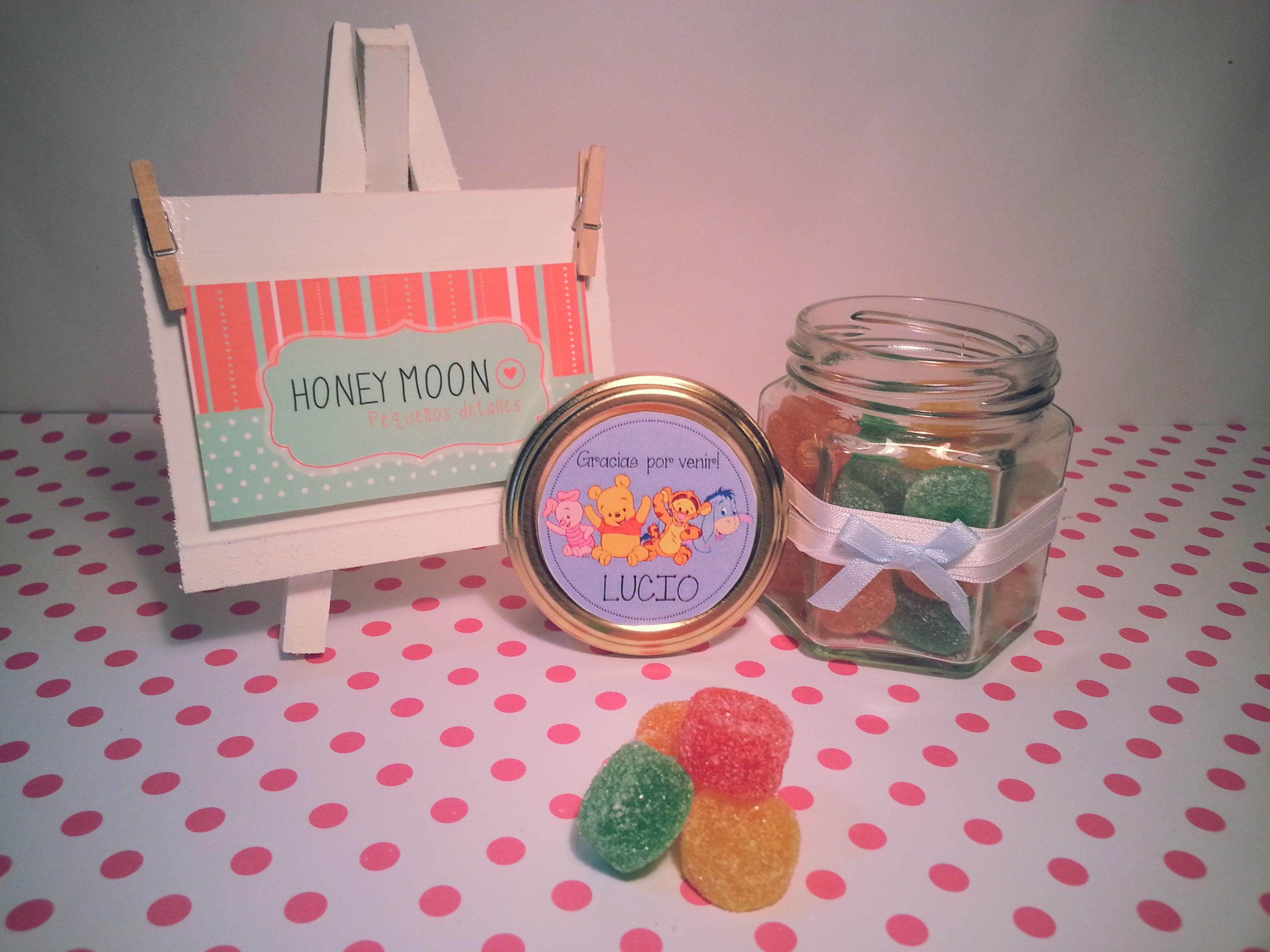 Souvenirs de Lucio. Tarritos personalizados con gomitas! www ...