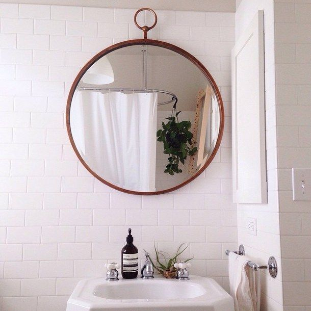 bathroom mirror pictures tumblr aesthetic alternative boho clean grunge 16244