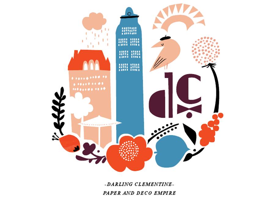 harvest, 2013 calendar by Darling Clementine