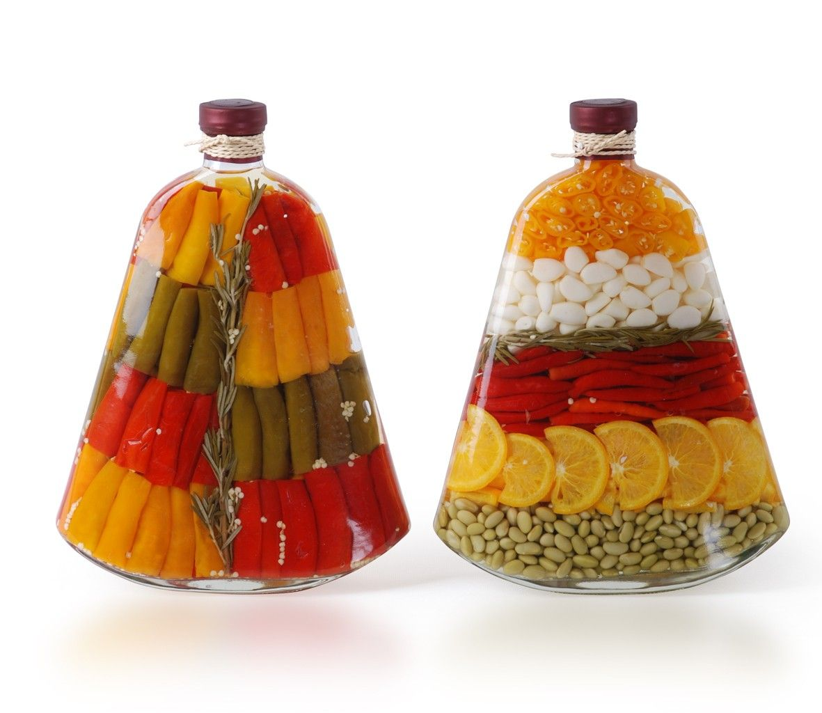 My Kitchen Is Decorated With These Looking For More Decorated Jars Bottle Tuscan Decorating Kitchen