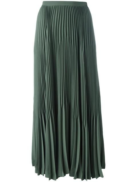 967d6f40c THEORY pleated flared detail skirt. #theory #cloth #юбка | Theory ...