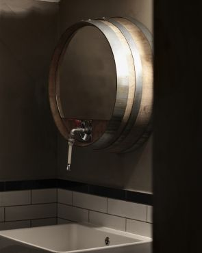 Creneau International U203a Balthazar, Wine Bar #bathroom   Cool Idea For Our Bar  Bathroom